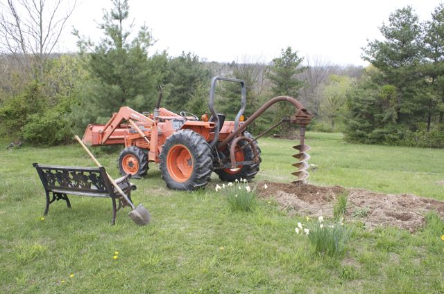 using-the-tractor-to-build-another-garden-spot