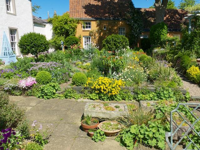 This garden is intensive