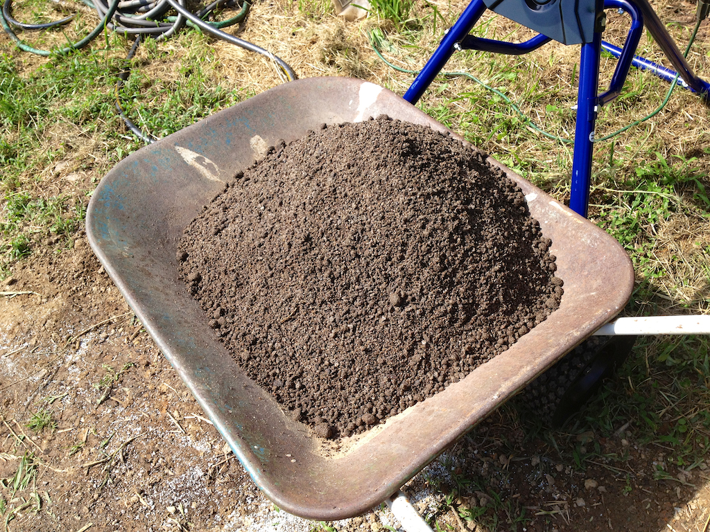 Resulting alpine soil mix