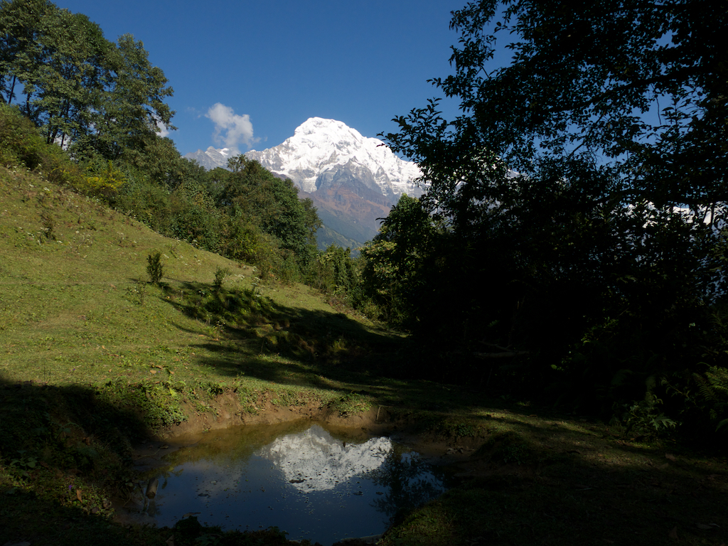Annapurna South reflection